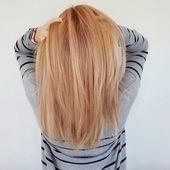 Schöne erdbeerblonde Haarfarbe-Ideen   – Lion's mane