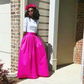 AliExpress Lato Runaway Maxi spódnica kobiety w stylu