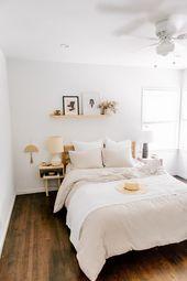 Natural Earthy Bedroom Decor # Schlafzimmer # Dekor   – home ideas