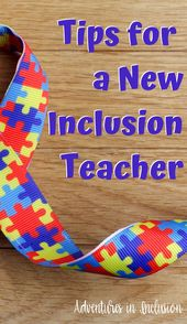 Ideas for a New Inclusion Instructor