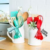 These beautiful utensil bouquets are the perfect gift for any occasion! – #anlas …