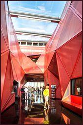 Espace Culturel de La Hague – Music center by Périphériques – #center #Cultu…
