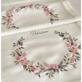 ……..🎀🌸🎀…….. . . . . . #brazilianembroidery #embroidery #ribbon …