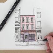 "3,621 Likes, 15 Comments - Phoebe Atkey (@phoebeatkey) on Instagram: ""✍🏻️ #art #drawing #pen #sketch #illustration"