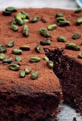 Chokoladekage Med Nodder Og Mandler Femina Mad Chokoladekage Mad Ideer