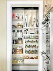 Walk In Pantry Cabinet Ideas Pantry Shelving Diy Kitchen Storage Kitchen Organization Pantry