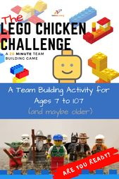 Looking for a team building exercise! – perfect for kids or adults – great STEM …