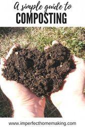 #Gardenforbeginners #A #Simple #Guide Eine einfache Anleitung zum Kompostieren für Anfänger …   – Homes Garden