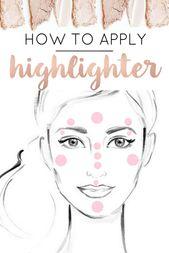 Beste Drogerie-Highlighter: Glow On   – TUTORIALS: CONCEALERS, BRONZERS, HIGHLIGHTERS