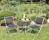 Balkongarnitur LARA, 3-teilig, Balkonbestuhlung, Tisch + 2 Stühle   – Alle Produkte Shop