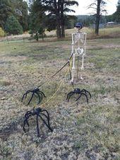 33 Bastelideen für Halloween im Freien – alltemplatehd.com ,halloween …