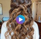 Graduation ball hairstyles