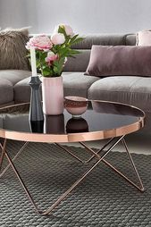 Home affaire Filigrane coffee table »REVAN« n, V-shaped table legs to be ordered separately