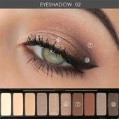 23 Natürliche Smokey Eye Make-up machen Sie brillant – Samantha Fashion Life #e…