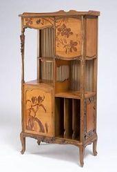 Louis Majorelle 1859 1926 Music Cabinet Circa 1900 Ecole De Nancy Mobilier De Salon Art Nouveau Petit Meuble