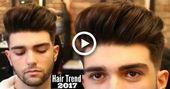 BIG VOLUME QUIFF - Mens Haircut & Hairstyle Trend 2019 Tutorial #hair #hairstyles #topmenshaircuts