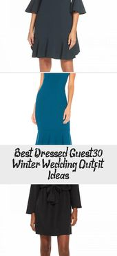 Best Dressed Guest – 30 Winterhochzeits-Outfit-Ideen – Duds   – Wedding Dresses Guest
