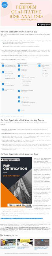 PMP Certification Perform Quantitative Risk Analysis (based on - quantitative risk analysis