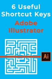 Illustrator Shortcuts  6 useful Adobe Illustrator shortcut keys