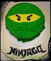 Lego Ninjago Cake / Green Ninja Cake Kindergeburtstag Feiern Sie Motto-Ideen …   – Kuchen