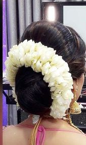 Finest hair bun with saree hairstyles Concepts