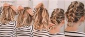 #Easy #Easy Hairstyles lazy #Hair #Hairstyles #Lazy #Medium