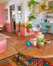 Nye stilfulde bohemsk indretning til boligindretning