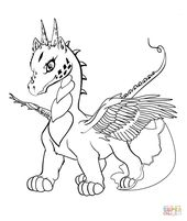 Dragon kid printable coloring pages #1362 Baby Dragon Coloring …