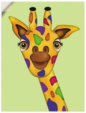Artland Wandfolie »Claudia Burlager: Giraffe« | OTTO