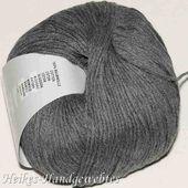 Baby Cotton Grey Melange von Lang Yarns   – Baby Cotton Uni / Baby Cotton Color Lang Yarns