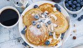 Delicious quark pancakes   – Essen