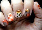 Ungewöhnliche Thanksgiving Nail Art Designs Ideen für die Herbstsaison 11 – Color Street   – Thanksgiving nails