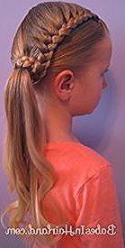 Lauren Conrad inspired Half French Braid Wrapped Ponytail #braid #conrad #fr