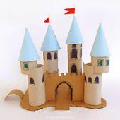 Ich liebe Handwerk: Toilettenpapier-Schloss