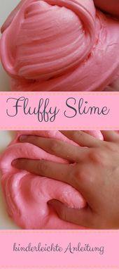 DIY Slime Super cooles  DIY für einen perfekten Fluffy Slime! Einfache Schitt für Schitt...