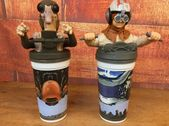 Lot of 2 STAR WARS EPISODE I ANAKIN SEBULBA COLLECTIBLE CUPS   RARE!!! COLLECTIB…