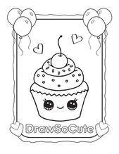 4 Susse Lebensmittel Malvorlagen Lesen Sie Mehr Kawaii Cupcakes Malvorlagen 1933 Cupcake Coloring Pages Food Coloring Pages Cute Coloring Pages