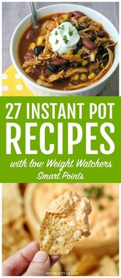 25+ Low Point Weight Watchers Instant Pot Recipes with SmartPoints