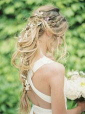 20 Long Wedding Hairstyles with Beautiful Details That WOW! - #beautiful #details #hairstyles #wedding - #frisuren