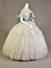 Costume ca. 1860 From the Kent State College Museum on Fb