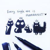Black Kitties Appreciation Day | Catsu die Katze