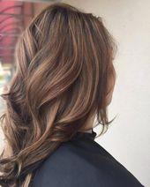 26 exquisite und verschiedene Ideen für braune Haarfarben – Haarschnitte & Frisuren 2019 # …   – brown hair ideas