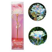 Gold Galaxy Rose Blume Valentinstag Lovers 'Geschenk Romantische Blumen Love Base …   – Home Decor