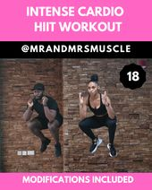 Cardio Workout at Home – HIIT with Modifications