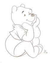 Cartoon-Skizzen | Winnie the Pooh Sketch von Micke … – #cartoon #Micke #Pooh #Sketch #sketches