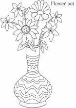 Ausmalbilder Blumenvasen31 Blumen Zeichnung Leichte Blumenzeichnungen Blumenzeichnung