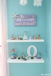 6a48972643726380371a0360e37b2d57  cute bedroom ideas ariel bedroom ideas - Mermaid Room - Inspiration Made Simple
