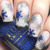30 Gorgeous Winter Wedding Nails Ideas