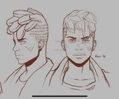 Photo of 48+ Trendy Hair Drawing Styles Character Design References