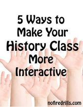 Historical past's Nice Thriller (How can I make my classroom extra interactive